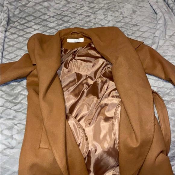 Jacqueline De Yong Camel Coat 🐫